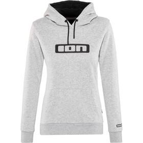ION Logo Huvtröja Dam grå